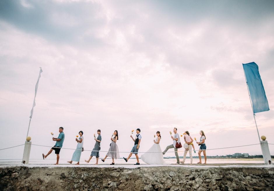 セブ島ウェディング パシフィック・セブ・リゾート 集合写真