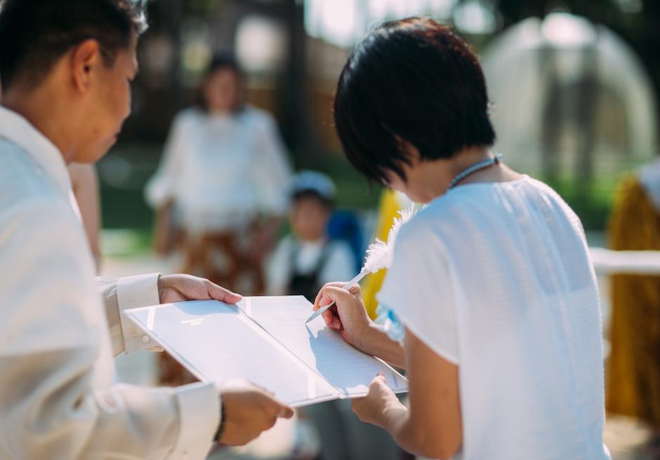 セブ・結婚式 パシフィック・セブ・リゾート 結婚証明書