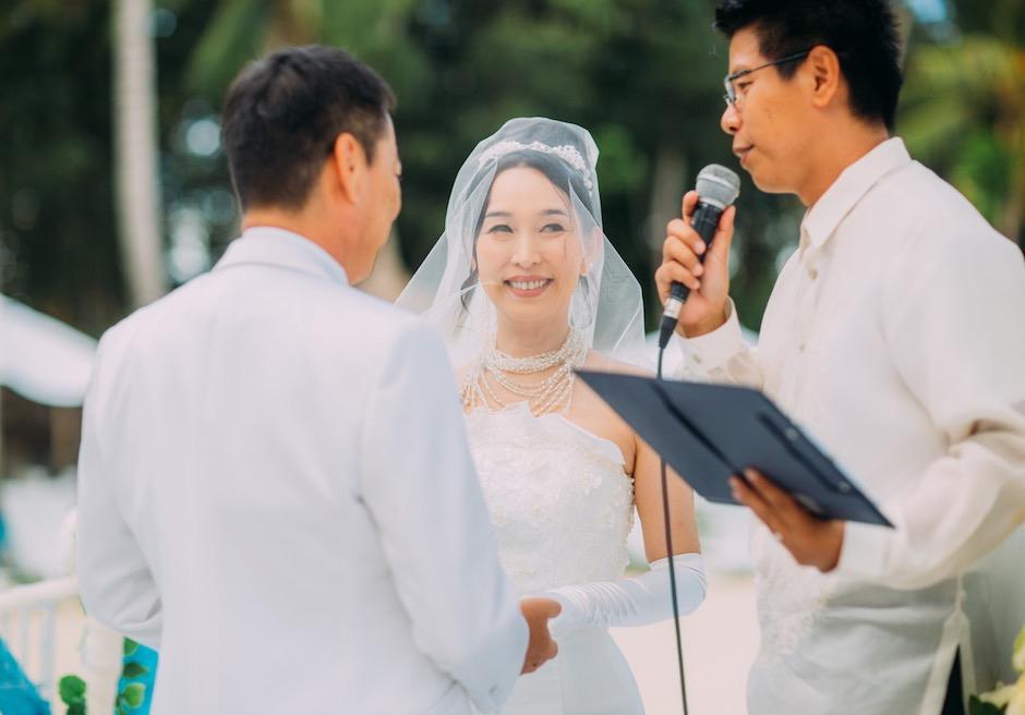 パシフィック・セブ・リゾートの結婚式
