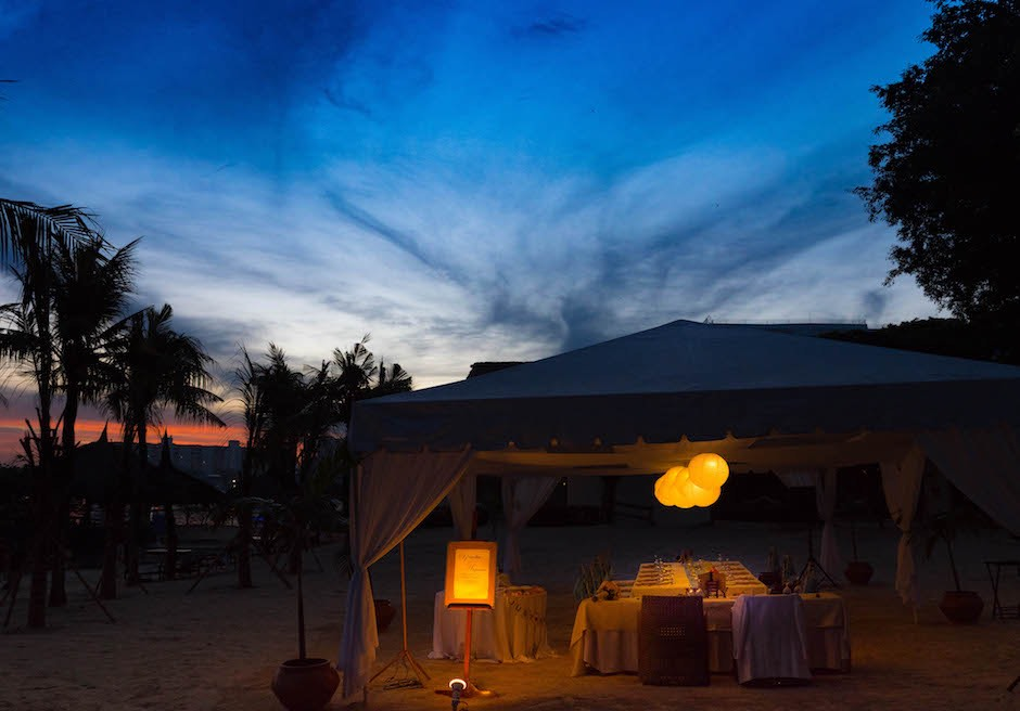 セブ島挙式 ビーチパーティー ブルーウォーター・マリバゴ