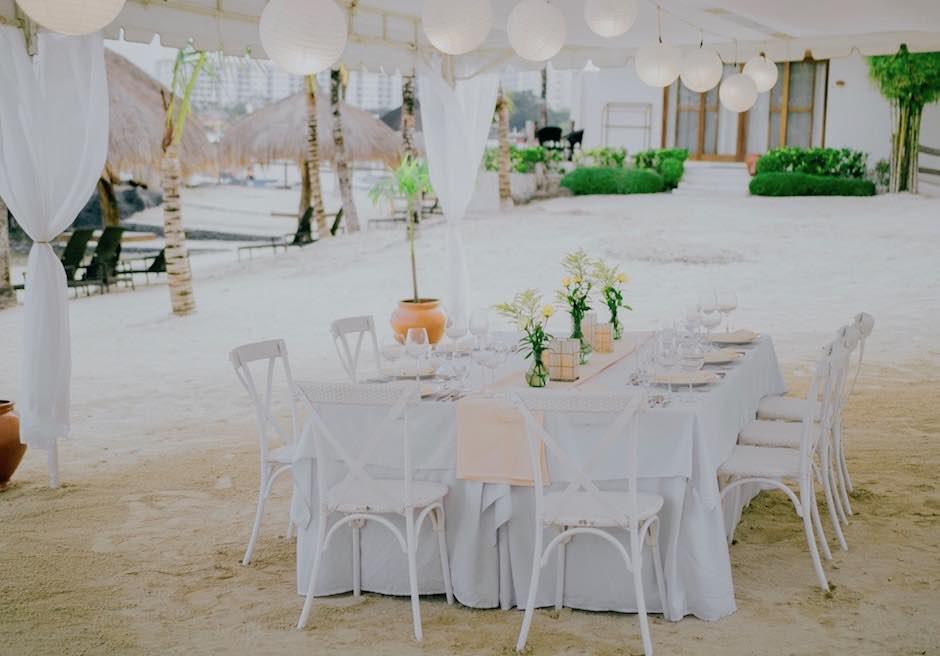 ブルーウォーター・マリバゴ・ビーチリゾート セブ セブウェディングパーティー マリバゴ・挙式パーティー会場
