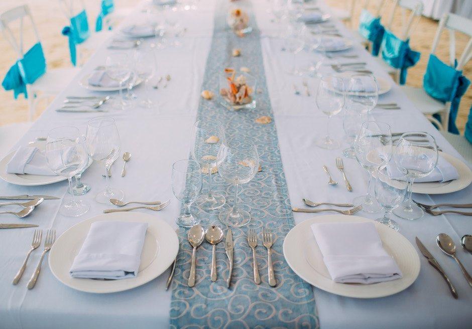 セブ・結婚式 レセプション テーブルデコレーション
