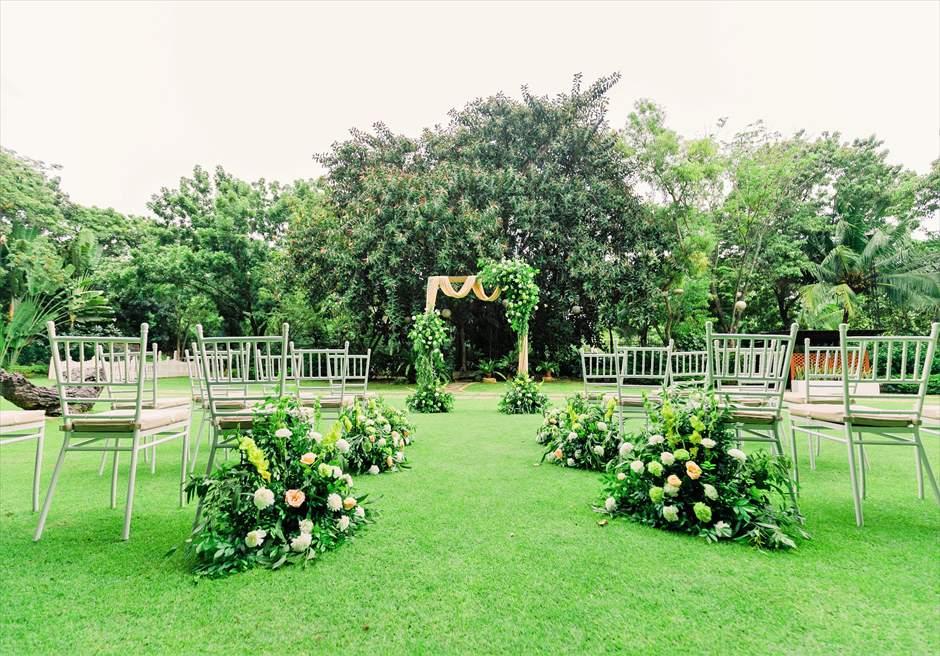 セブ・ホワイト・サンズ・リゾート フォレスト・ガーデン