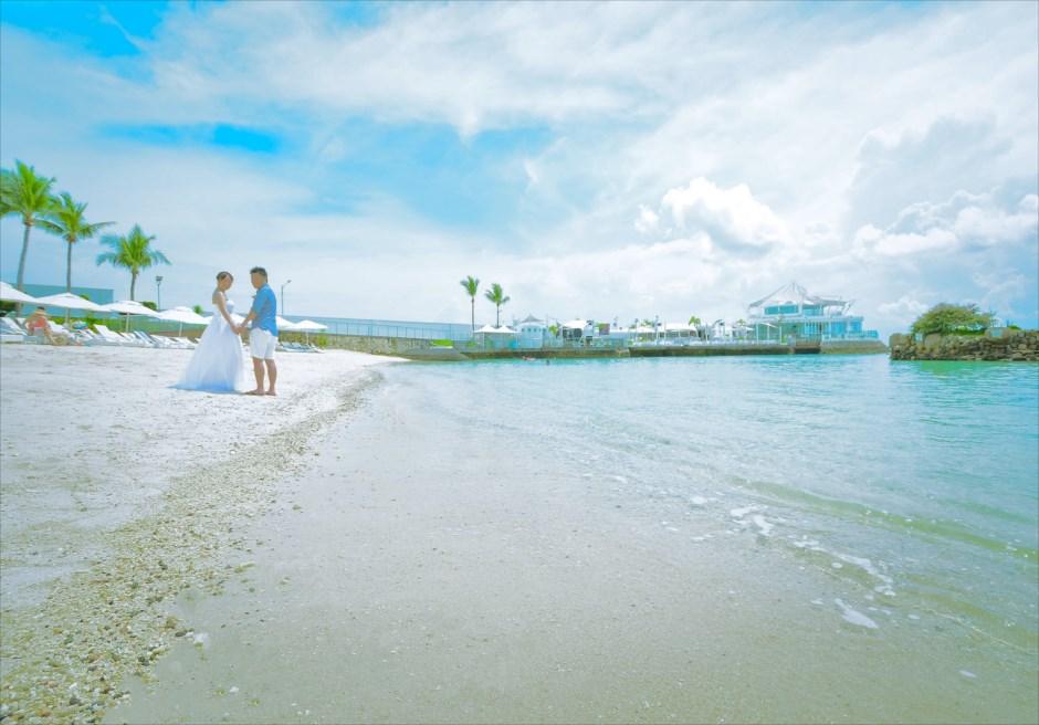 セブ島フォトウェディング ビーチ撮影 モーベンピック・マクタン・アイランド・セブ