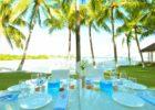 パシフィック・リゾート・セブ パーティー会場 テーブル装飾 一覧