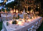 セブ・ホワイト・サンズ ガーデンウェディング パーティー会場装飾 一例