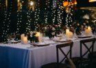 クリムゾン・リゾート&スパ・マクタン オーシャンフロントガーデン ウェディングパーティー会場 テーブル装飾