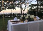 クリムゾン・リゾート&スパ・マクタン ヴィラガーデン ロマンティックディナー 会場装飾 一例