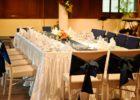 プランテーション・ベイ・リゾート&スパ ウェディングディナー会場 ヴァルハラ・モール テーブル装飾 一例