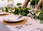 シャングリラ・マクタン・リゾート&スパ オーシャンパビリオン・チャペル・ガーデン パーティー会場 テーブル装飾 一例