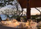 シャングリラ・マクタン・リゾート&スパ パラダイス・アイランド パーティー会場 テーブル装飾 一例