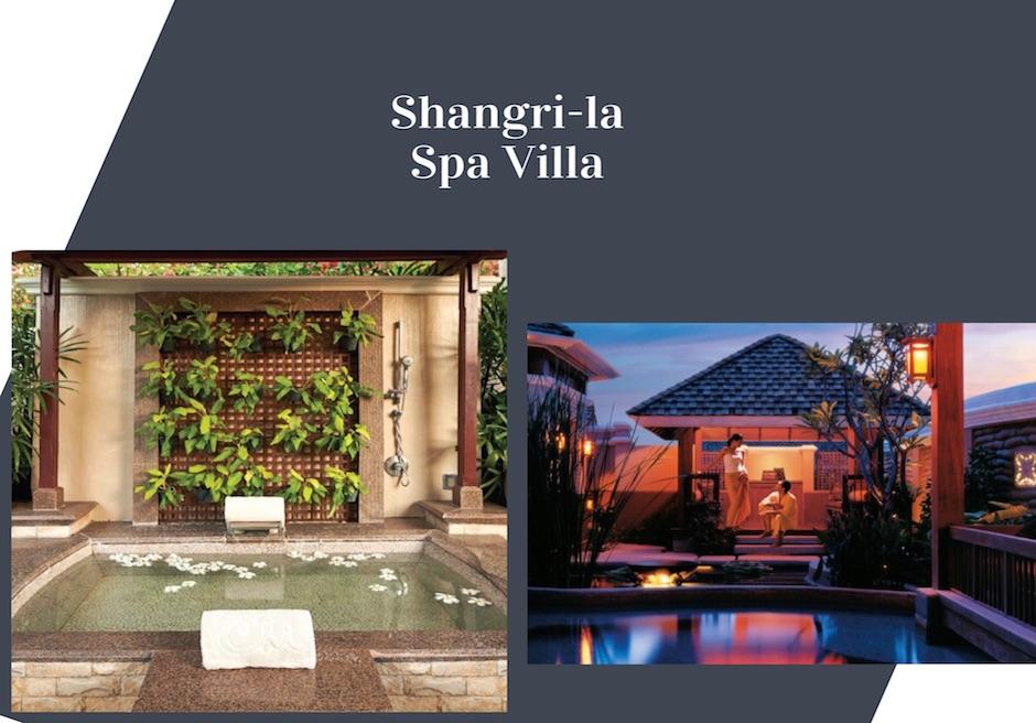 シャングリ・ラ・マクタンの隠れ家ヴィラ